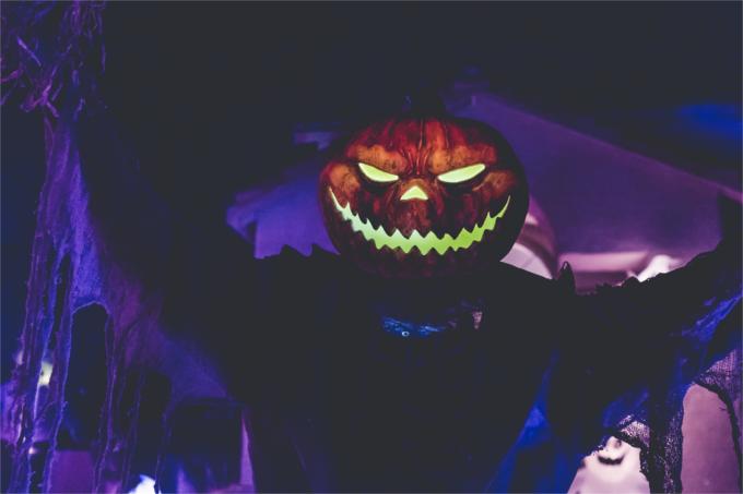 ハロウィンのホラー系