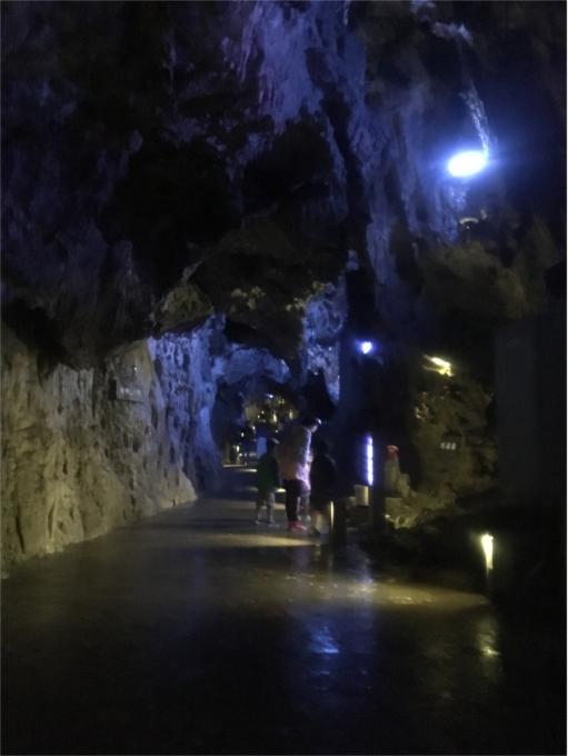 龍泉洞内廊下