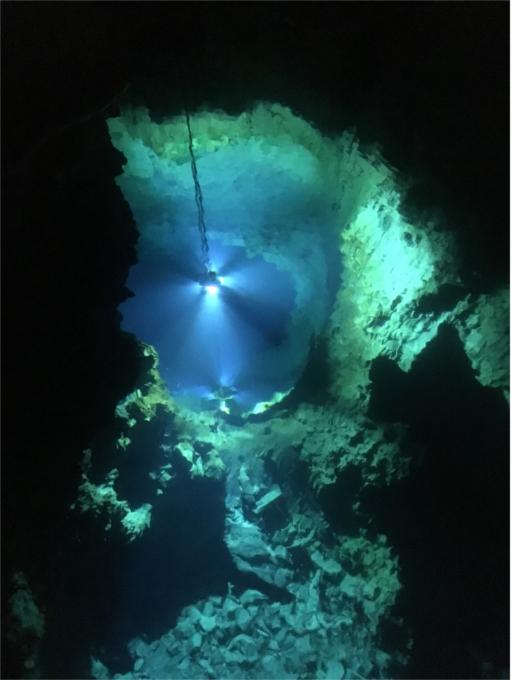 龍泉洞 第2地底湖