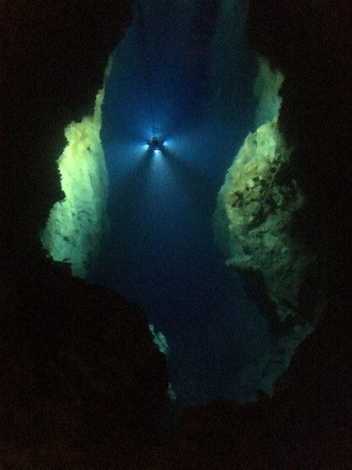 龍泉洞 第3地底湖